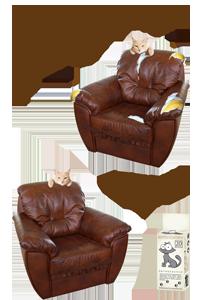 Антицарапки на  кресле